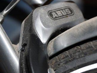 Rahmenschloss Abus Fahrradversicherung