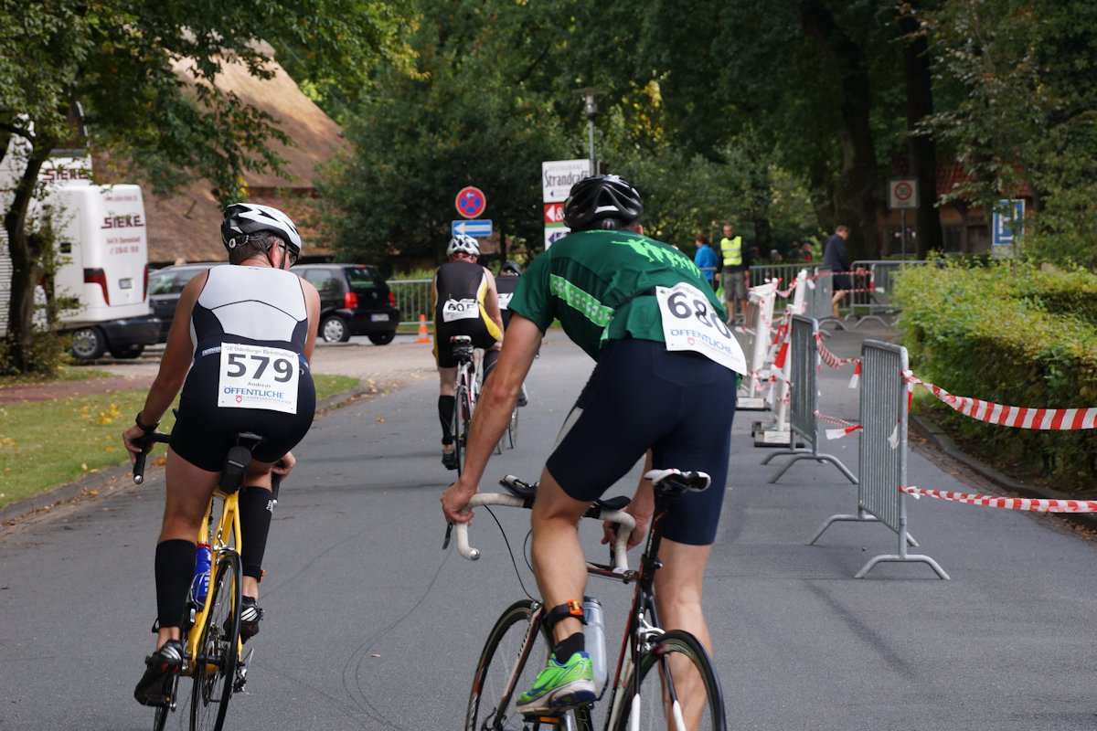 Radrennen Fahrer Radsport