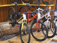 Fahrradgeschäft Verkaufsfläche