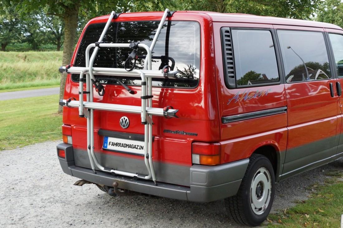 Fiamma Carry Bike Test Fahrradträger für VW Bulli